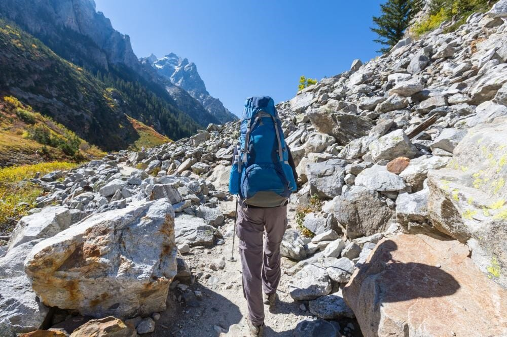 How Heavy Backpacks Can Take a Toll on a Hiker's Posture