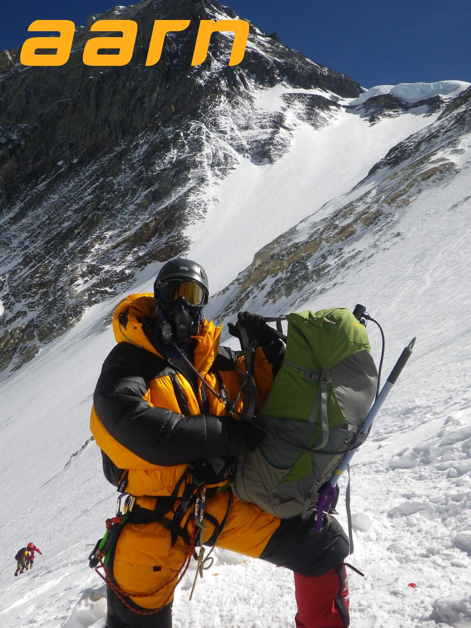 Summit Mt Everest with an Aarn Peak Aspiration Backpack